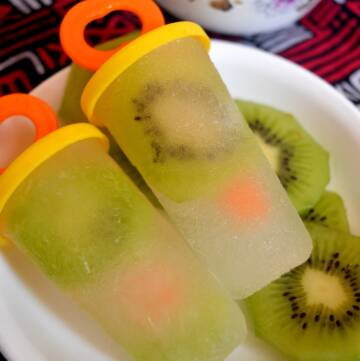 Lemonade Kiwi Popsicles