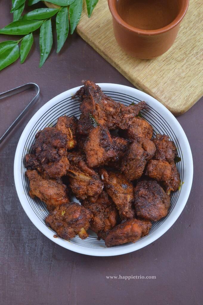 Crispy Chicken Varuval