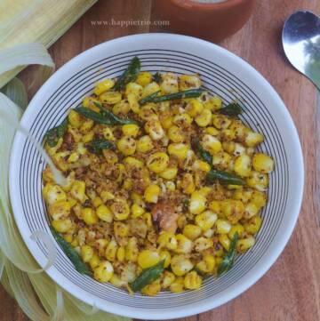 Sweet Corn Sundal