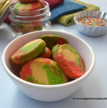 Christmas Rainbow Cookie