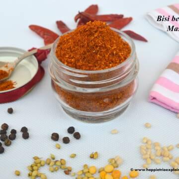 bisibelebath masala powder