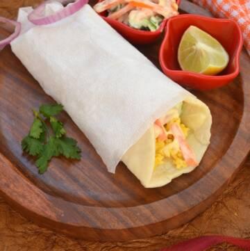 Egg Shawarma Roll