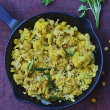 Cauliflower Egg Bhurji