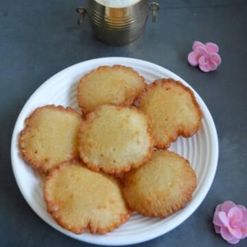 Instant Rava Sweet Appam