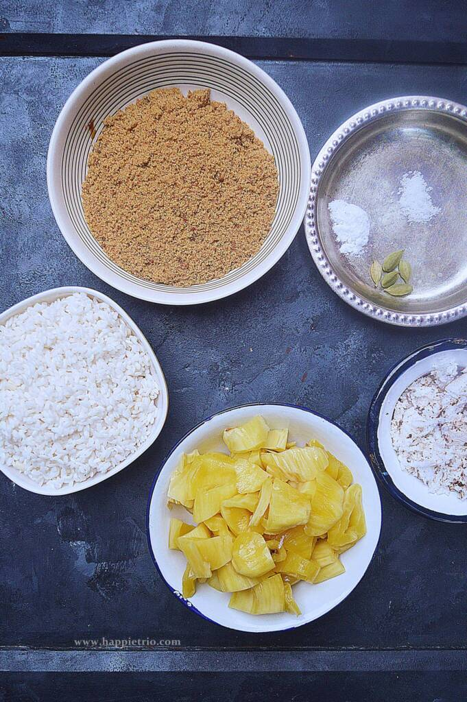 Jackfruit Sweet Paniyaram Ingredients