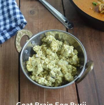 Mutton brain Egg Burji