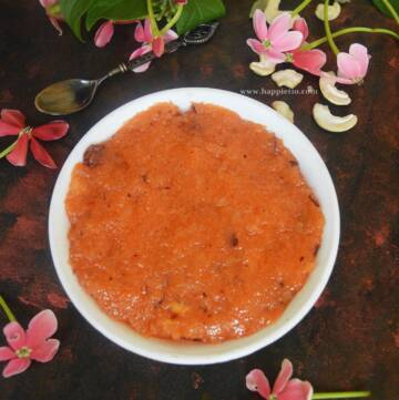 Coconut Rava Kesari
