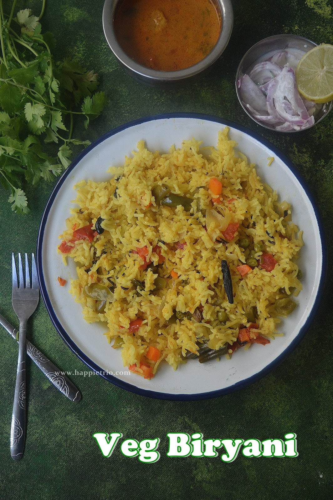 Vegetable Biryani Simple Veg Biryani Cook With Sharmila