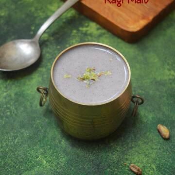 Ragi Malt Recipe   Healthy Ragi Porridge Recipe   How to prepare Ragi Malt