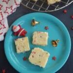 White Christmas Slice Recipe | Easy Christmas Slice