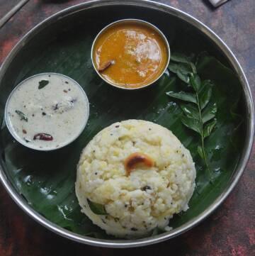 Little Millet Ven Pongal