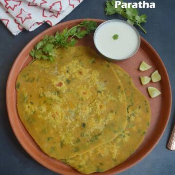 Sweet Potato Paratha Recipe   Sakkarai Velli Kizhangu Paratha Recipe   Healthy Stuffed Paratha Recipe