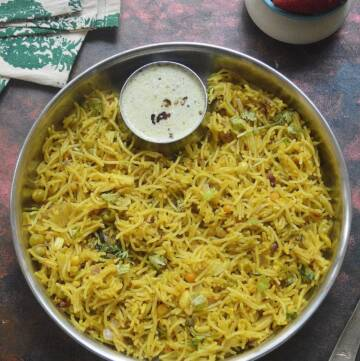 Semiya Upma Recipe   Vermicelli Upma Recipe