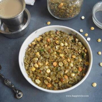 Bajra Flakes Mixture Recipe | Bajra chivda | Kambu Aval Mixture