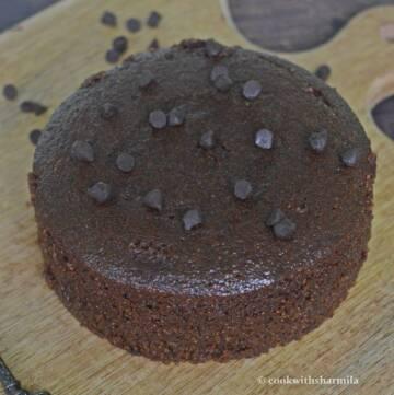 Chocolate Rava Cake