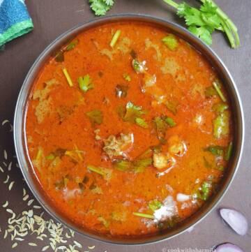 Home Style Chicken Kulambu