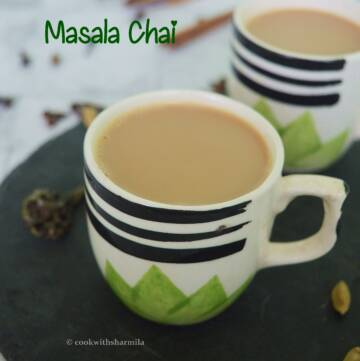 Masala Chai an authentic chai prepared with the Indian spices.