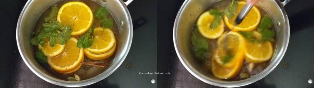 Step 5 - Homemade Orange Tea