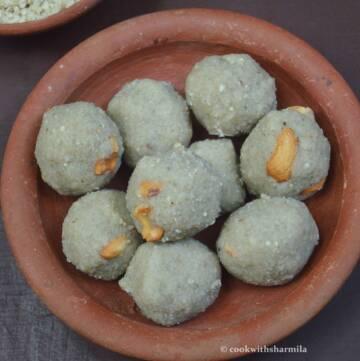 Millet Poha Ladoo