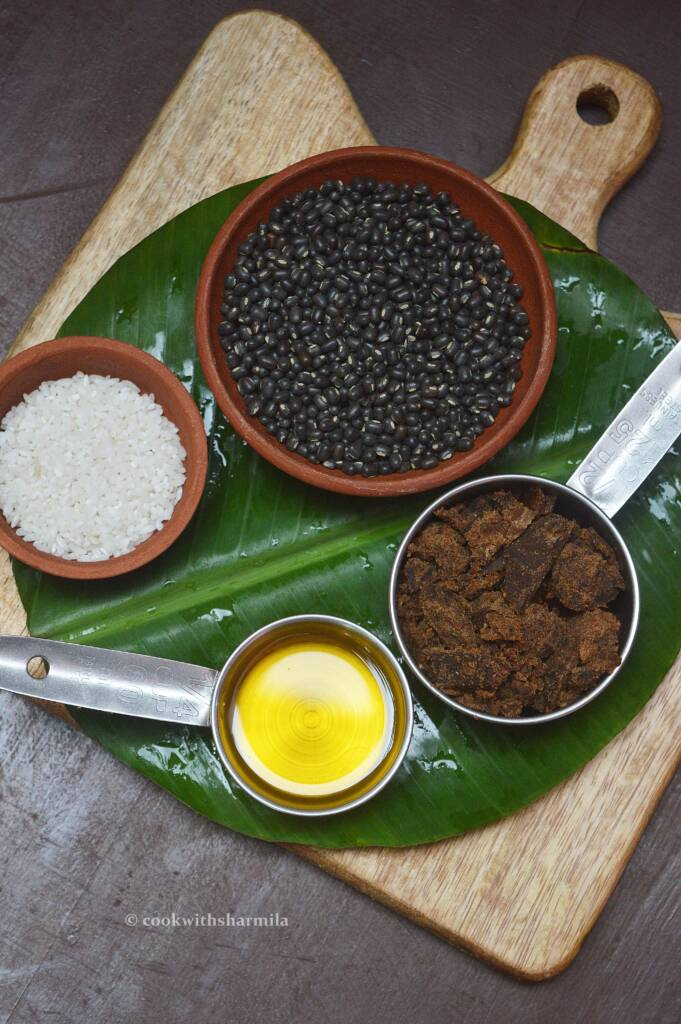 Ingredients for Ulutham Kali / Ulundhu Kali
