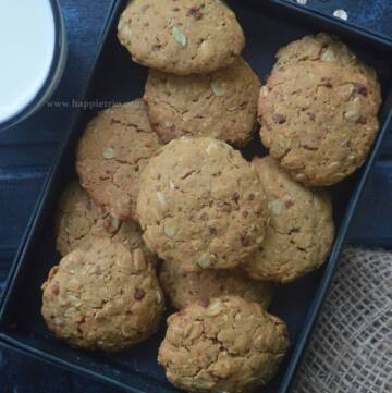 Oats Jaggery Cookies