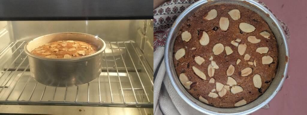 Step 5 : Gluten Free Almond Flour Cake is ready.