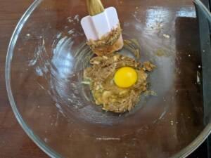 step 2 - Break open the eggs.