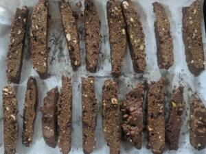 Step 13 - Mocha Chocolate Biscotti is ready