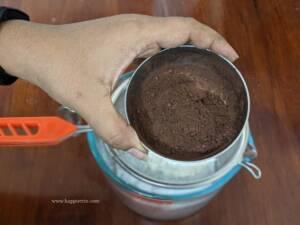 Step 2 - Add in Cocoa Powder