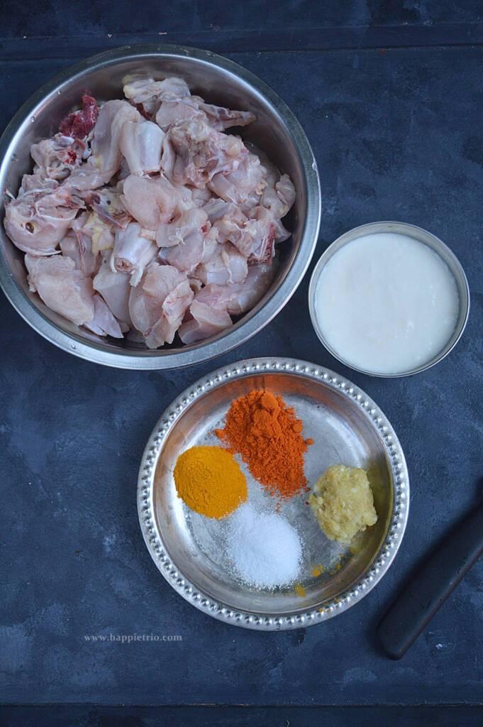 Marinade for Chicken Pulao
