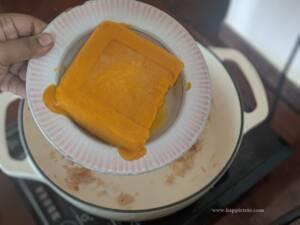 Step 2 Add in the frozen Pumpkin Puree