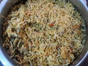 Chicken Pulao is now ready