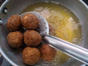 Traditional Falafel is now ready