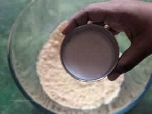 Step 4 - Add Idli dosa batter