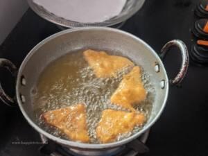 Step 8 - deep fry in hot oil