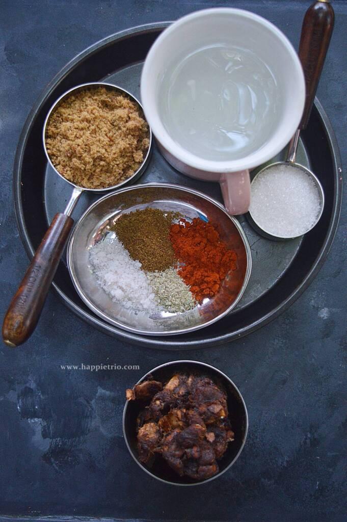 Ingredients for Tamarind chutney