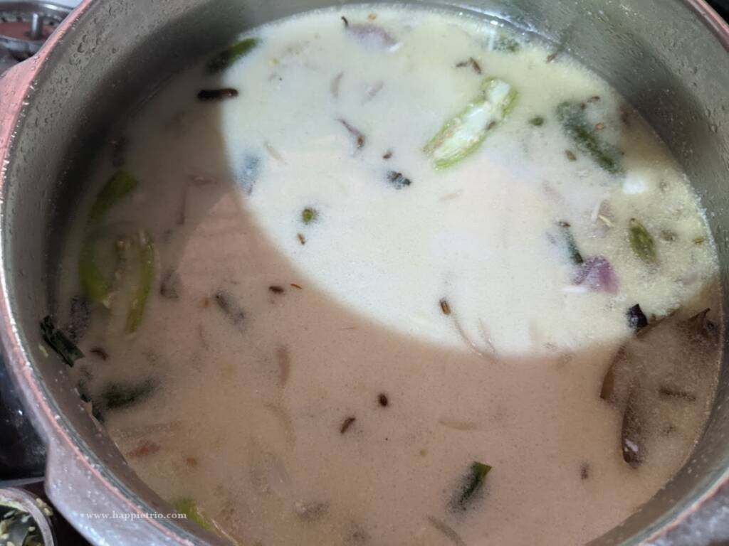 Coconut Milk Pulao is ready