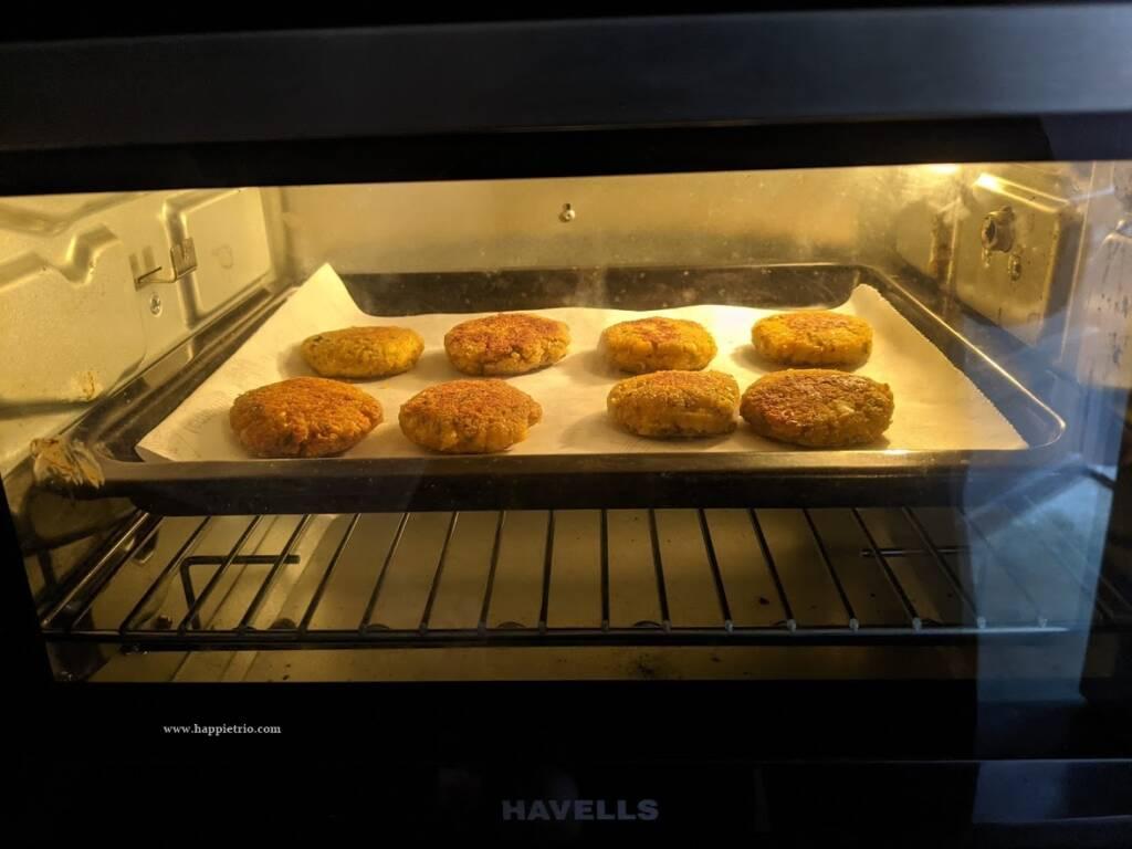 Baked falafel in the oven