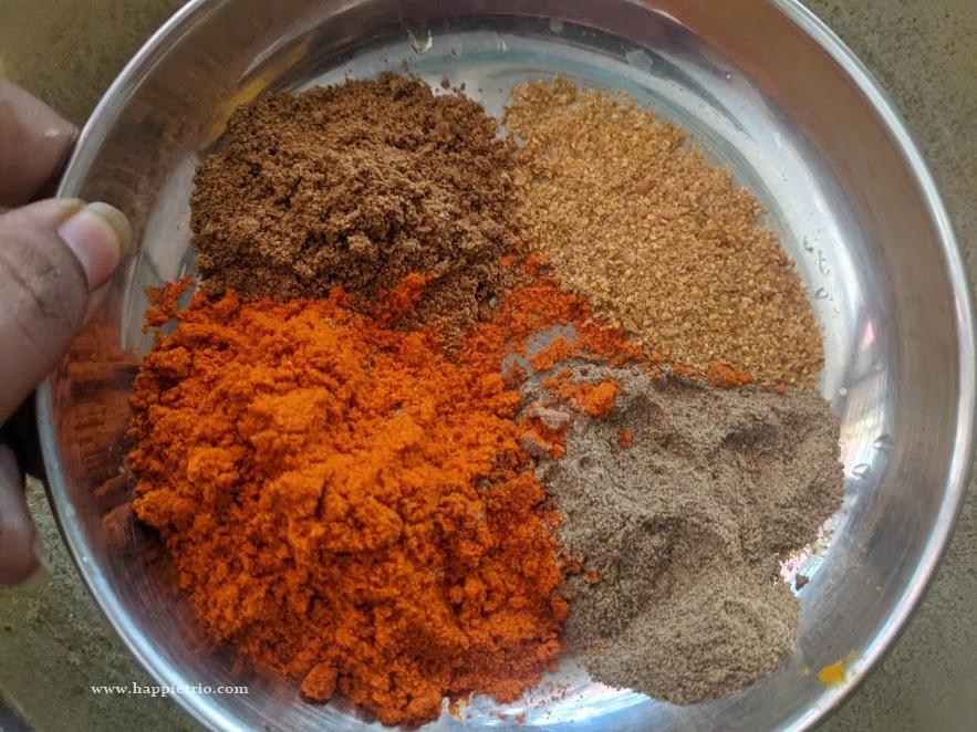 Add Spice Powders
