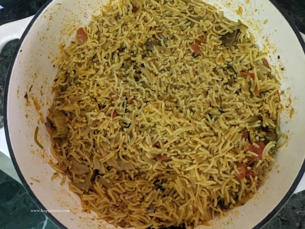 Home Style Mutton Biryani is ready