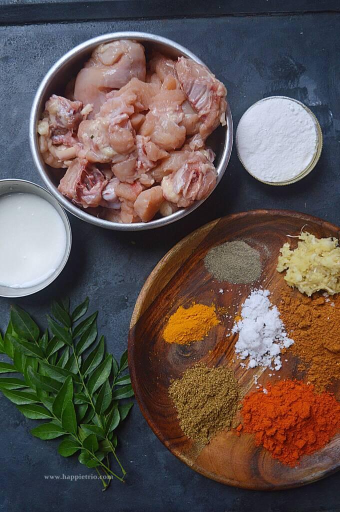 Chicken Fry Ingredients