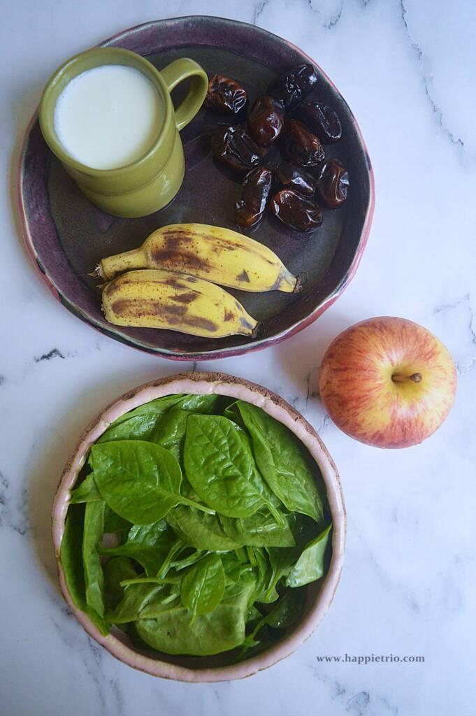 Ingredients Green Smoothie