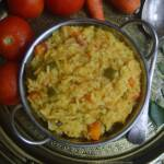 Instant pot khichdi with vegetables