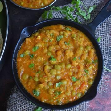 Instant Pot Peas Curry