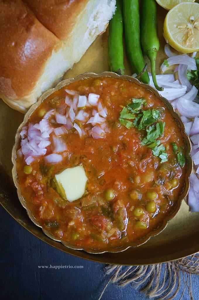 Instant Pot Pav Bhaji